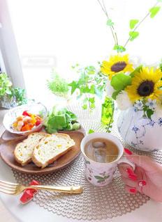 休日の朝ごはん〜summer〜の写真・画像素材[1289135]