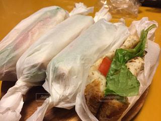 手作りサンドイッチの写真・画像素材[2918170]