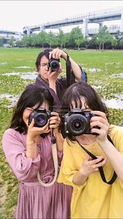 カメカメカメラの写真・画像素材[3461054]