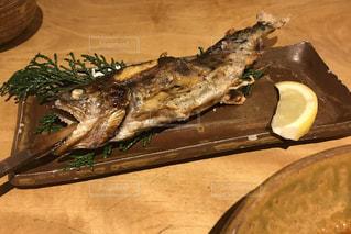 食べ物,夏,魚,旅行,料理,おいしい,鮎,塩焼き