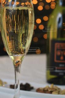 クローズ ボトル、ワインのガラスの - No.917855