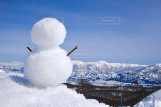 雪に覆われた飛行機の写真・画像素材[928844]
