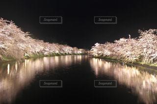 水の体を流れる川の写真・画像素材[1147646]