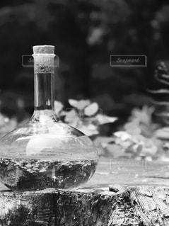 クローズ ボトルのアップの写真・画像素材[1282387]