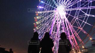 空に花火の写真・画像素材[1681377]