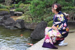 女性,20代,着物,前撮り,千葉県,成人式,見浜園