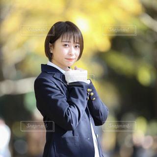 制服の女子高生の写真・画像素材[3281528]
