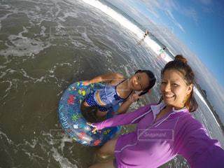 海,gopro,GoProHERO5BLAKE,ママと子供