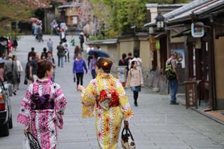 京都姉妹の写真・画像素材[664549]