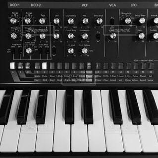 ピアノの鍵盤の写真・画像素材[802524]