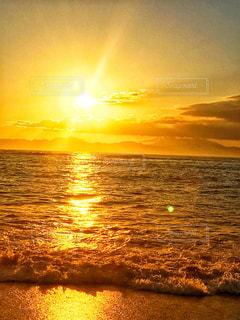 金色太陽☀️の写真・画像素材[955795]