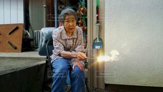 花火,おばあちゃん,夏休み,ほっこり