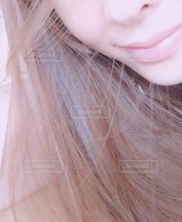 クローズ アップの女の子のの写真・画像素材[856891]