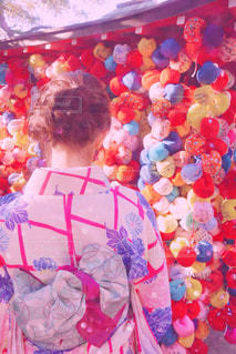 色とりどりの花のグループの写真・画像素材[876825]