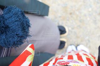 赤と白の帽子の写真・画像素材[907511]