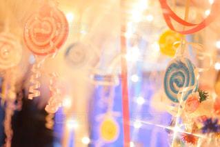 誕生日ケーキのぼやけた画像の写真・画像素材[918038]