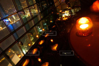 夜の街の景色の写真・画像素材[918695]