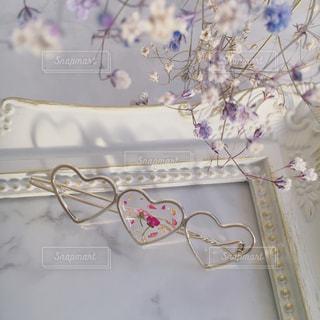 近くの花のアップの写真・画像素材[1137161]