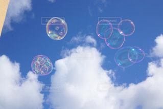 空には雲のグループの写真・画像素材[1137181]