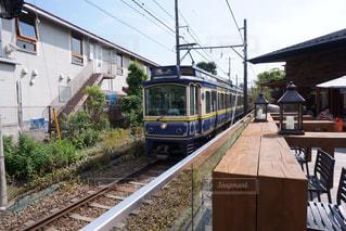 鋼のトラックの列車の写真・画像素材[1194751]