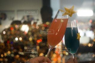 夜景,グラス,六本木,カクテル,乾杯,バー,ドリンク,森ビル