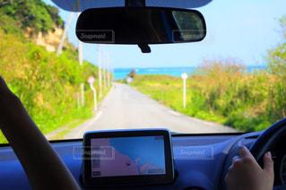 海沿いのドライブの写真・画像素材[2098712]