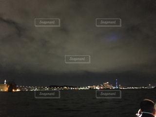 海,夜景,福岡,クルージング,中州,福岡中州からクルージング