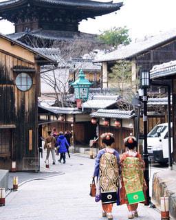 冬の京都にて。の写真・画像素材[908145]