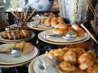 朝食,パン,旅行,旅,おいしい,リゾートホテル,ブッフェ,スリランカ