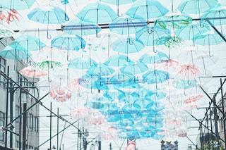 傘アート カメラとアプリでフィルム風加工の写真・画像素材[1234146]