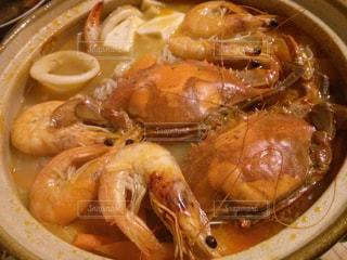 冬,鍋,寒い,手作り,海鮮,エビ,シーフード,上海蟹,あったか