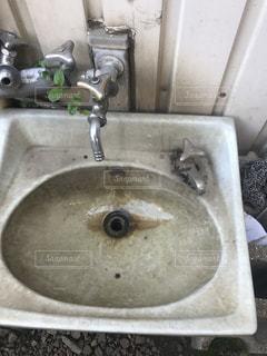 会社の洗面所の写真・画像素材[763236]