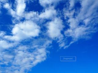 自然,海,空,秋,雲,青空,秋空