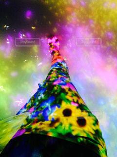 カラフルな凧の写真・画像素材[717795]