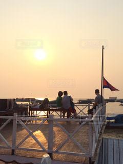夕日,海外,綺麗,旅行,カンボジア,ロマンティック