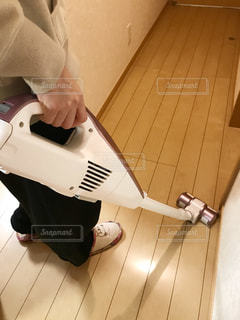 掃除中~♪(*^^*)の写真・画像素材[785559]