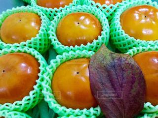 葉,フルーツ,果物,くだもの,柿,ギフト,かき