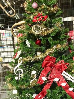 クリスマス,楽器,ツリー,音符,メロディー