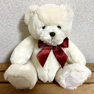 かわいい,ぬいぐるみ,リボン,熊,赤いリボン,クマ