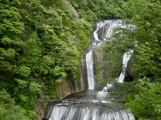 マイナスイオンいっぱい浴びれる滝😊の写真・画像素材[1496149]