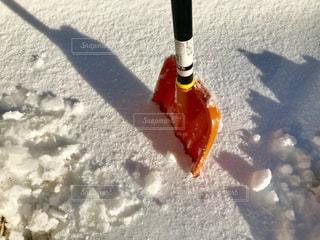 雪かき疲れます😓の写真・画像素材[1777042]