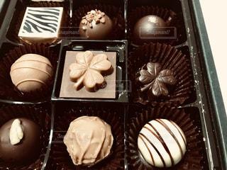 バレンタインデーに友チョコ頂きました。の写真・画像素材[1815468]