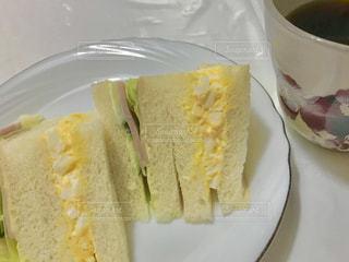 手作りサンドイッチの写真・画像素材[1871708]