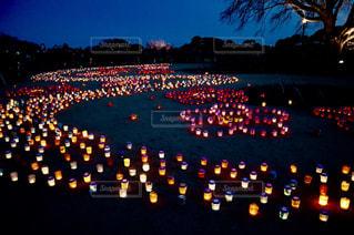 偕楽園の梅まつり🌸一夜限りのキャンドルナイト✨とっても素敵でした🌼🌸💕の写真・画像素材[2261485]