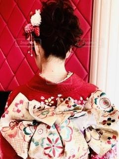 振袖を着た女性の写真・画像素材[2515029]