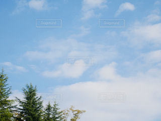 水色の空の写真・画像素材[2984578]