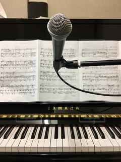 ピアノ弾き語りの写真・画像素材[805165]