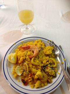 スペイン,パエリア,パイナップルジュース,サフラン