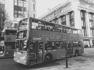 風景,モノクロ,旅行,旅,バス,ロンドン,London