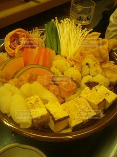 食品の完全なテーブルの写真・画像素材[789321]